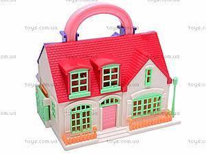 Кукольный домик для детей, 08218A, магазин игрушек