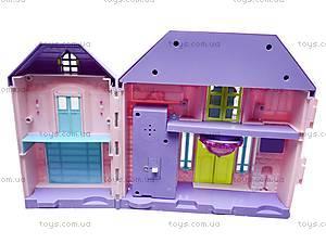 Кукольный домик, с мебелью, WD-910AB, купить