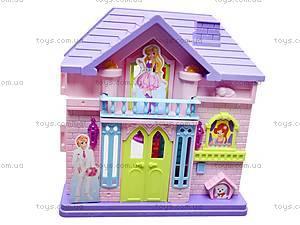 Кукольный домик, с мебелью, WD-910AB, цена