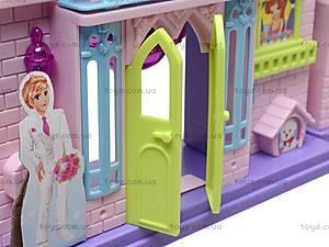 Кукольный домик, с мебелью, WD-910AB, toys.com.ua