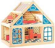 Кукольный домик деревянный, Д225, детские игрушки