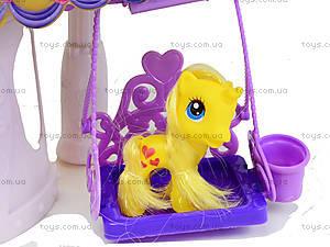 Кукольный домик для пони с аксессуарами, 6628A-1, отзывы