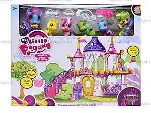 Кукольный домик для пони с аксессуарами, 6628A-1, магазин игрушек