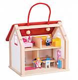 Кукольный домик goki «Дорожный» с ручкой, 51780G, отзывы