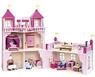 Кукольный домик goki «Замок» 2 этажа, 51772G