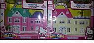 Кукольный домик «Hello Kitty» с мебелью, 06008-1K06008A-1