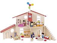 Кукольный домик-конструктор goki, 51737G, отзывы