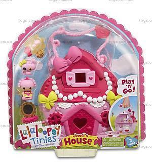 Кукольный домик Крошки Lalaloopsy «Жемчужный коттедж Блестинки», 532460, купить