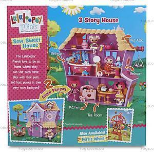Кукольный домик Minilalaloopsy «Пряничный коттедж», 533153, цена