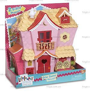 Кукольный домик Minilalaloopsy «Пряничный коттедж», 533153, игрушки