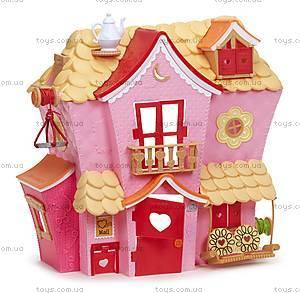 Кукольный домик Minilalaloopsy «Пряничный коттедж», 533153, детские игрушки
