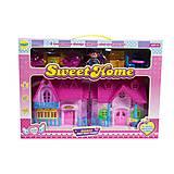 Кукольный домик с мебелью и фигурками «Sweet Home» (розовый), 16332A, отзывы