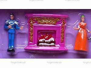 Кукольный замок с принцессой, 2305-B, игрушки