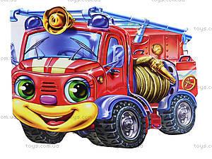 Забавные машинки «Пожарная машина», М15472Р, отзывы