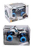 Игрушка «Квадроцикл», металлический , 8889-SC2, купить