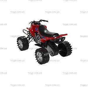 Детский инерционный квадроцикл, 21875-6297-17, купить