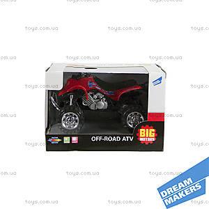 Квадроцикл инерционный игрушечный, 6297-17