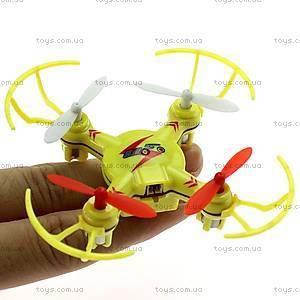 Радиоуправляемый квадрокоптер нано Mini Ufo, желтый, WL-V646-Ay, купить