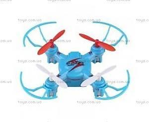 Нано-квадрокоптер на радиоуправлении Mini Ufo, синий, WL-V646-Ab
