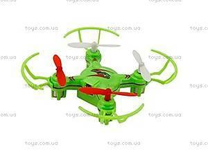 Радиоуправляемый нано-квадрокоптер Mini Ufo, зеленый, WL-V646-Ag, купить
