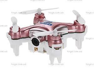 Квадрокоптер нано Wi-Fi Cheerson CX-10C с камерой розовый, CX-10Wp, купить