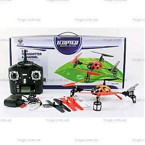 Квадрокоптер радиоуправляемый Beetle, оранжевый, WL-V929o, отзывы