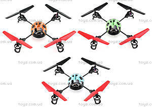 Квадрокоптер радиоуправляемый Beetle, оранжевый, WL-V929o, цена