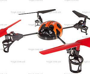 Квадрокоптер радиоуправляемый Beetle, оранжевый, WL-V929o