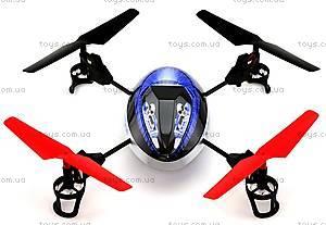 Квадрокоптер радиоуправляемый UFO Force, фиолетовый, WL-V949v, отзывы