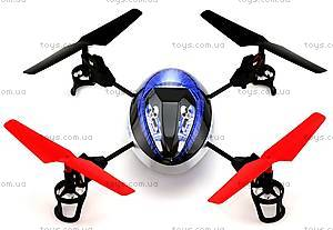 Квадрокоптер радиоуправляемый UFO Force, синий, WL-V949b