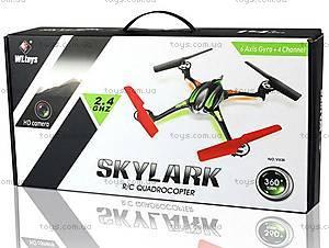 Радиоуправляемая игрушка «Квадрокоптер» Skylark с камерой, WL-V636c, цена