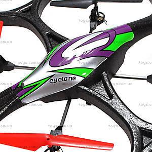 Квадрокоптер с камерой на радиоуправлении WL Toys Cyclone 2, WL-V333c, магазин игрушек