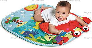 Развивающий коврик c подушкой «Подводный мир», 1203600030, отзывы