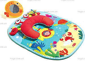 Развивающий коврик c подушкой «Подводный мир», 1203600030
