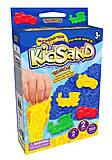 """Кинетический песок """"KidSand: Динозавры"""" с формочками, мини 200 г , KS-05-07, фото"""