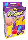 """Кинетический песок """"KidSand: Животные"""" с формочками, мини 200 г, 2 пасочки, KS-05-04, купить"""