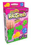 """Кинетический песок """"KidSand: Животные"""" с формочками, мини 200 г, KS-05-05, фото"""
