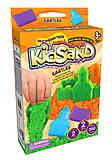 Кинетический песок «KidSand: Замок» с формочками, KS-05-02, купить