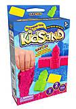 """Кинетический песок """"KidSand: Замок"""" с формочками, мини 200 г, 2 цвета, KS-05-03"""