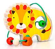 Лабиринт с бусинками «Лев» Lucy&Leo, LL130, игрушка