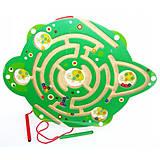 Лабиринт с магнитными шариками «Черепаха», Д340у, фото