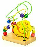 Лабиринт Свинка, Д114, детские игрушки