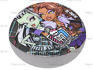 Ластик Monster High, круглый, MH13-100К