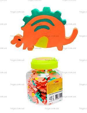 Стирательная резинка «Оранжевый динозавр», 48 штук, 50807-TK