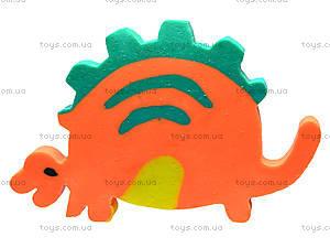 Стирательная резинка «Оранжевый динозавр», 48 штук, 50807-TK, отзывы
