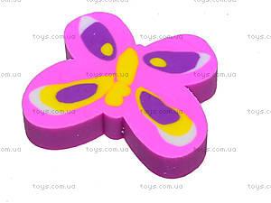 Ластик «Розовая бабочка», 40 штук, 50808-TK, фото