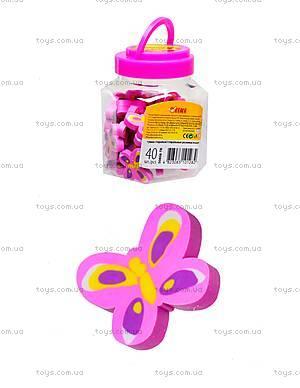 Ластик «Розовая бабочка», 40 штук, 50808-TK