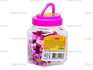 Ластик «Розовая бабочка», 40 штук, 50808-TK, отзывы