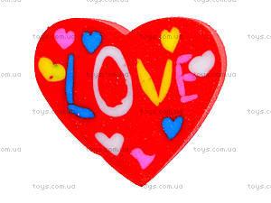 Ластик «Сердце Love», 40 штук, 50810-TK, купить