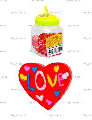 Ластик «Сердце Love», 40 штук, 50810-TK